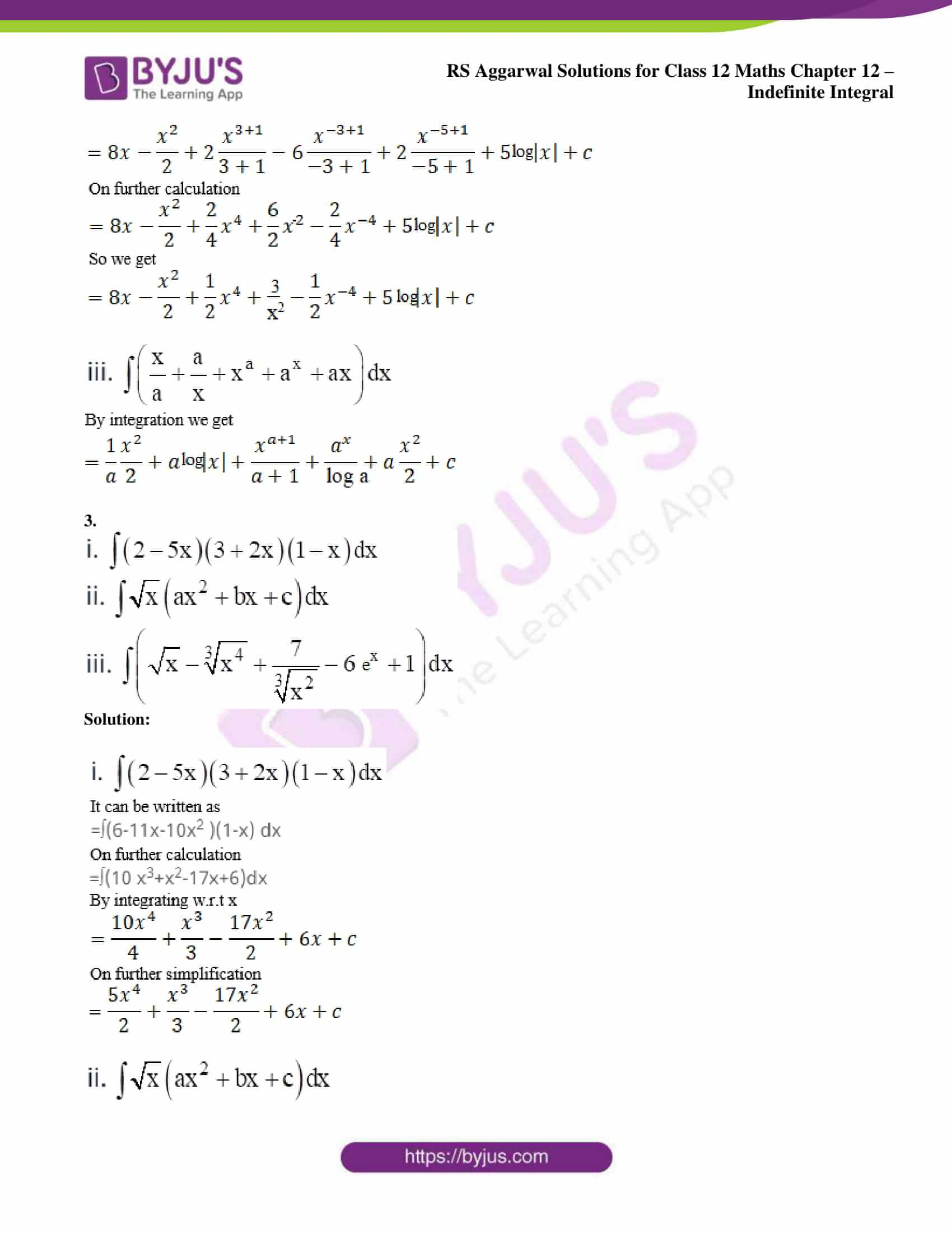 rs aggarwal solution class 12 maths chapter 12 05