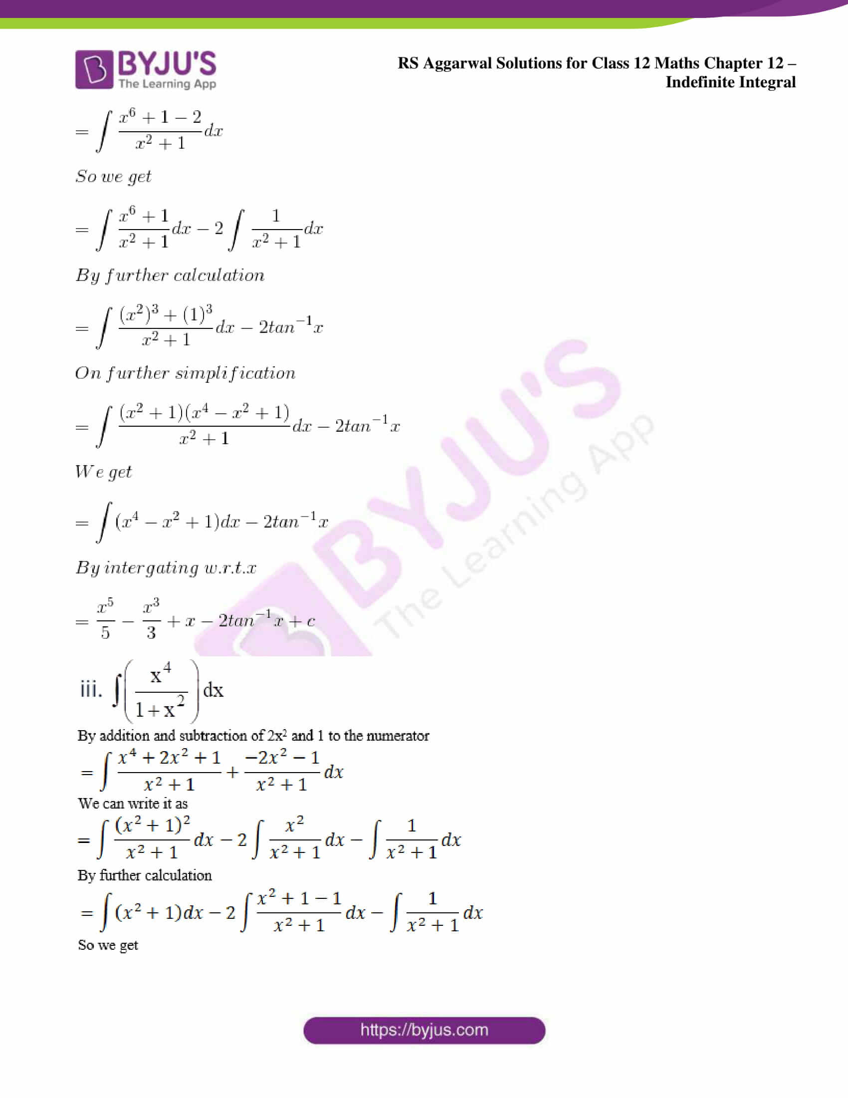 rs aggarwal solution class 12 maths chapter 12 10