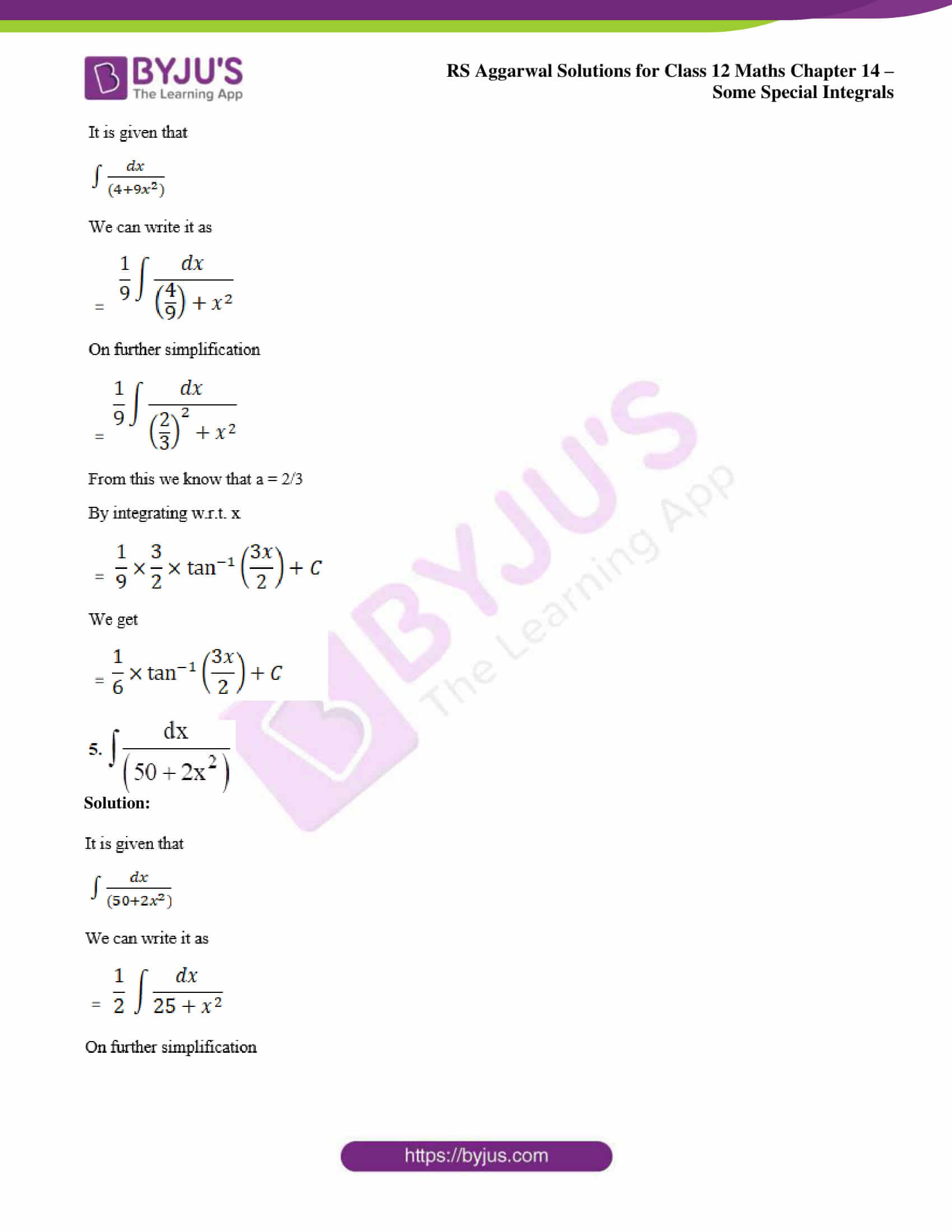 rs aggarwal solution class 12 maths chapter 14 ex a 03