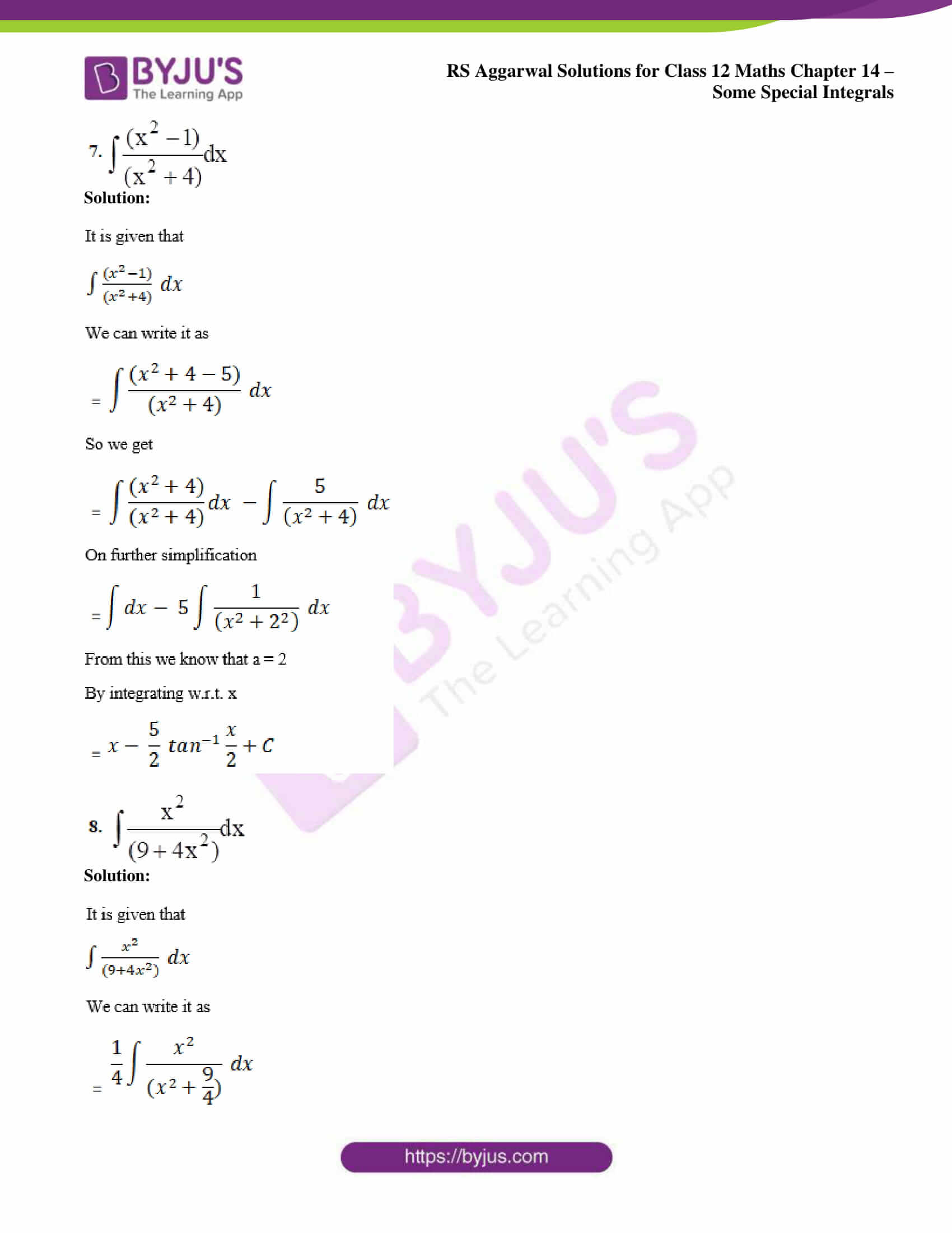 rs aggarwal solution class 12 maths chapter 14 ex a 05