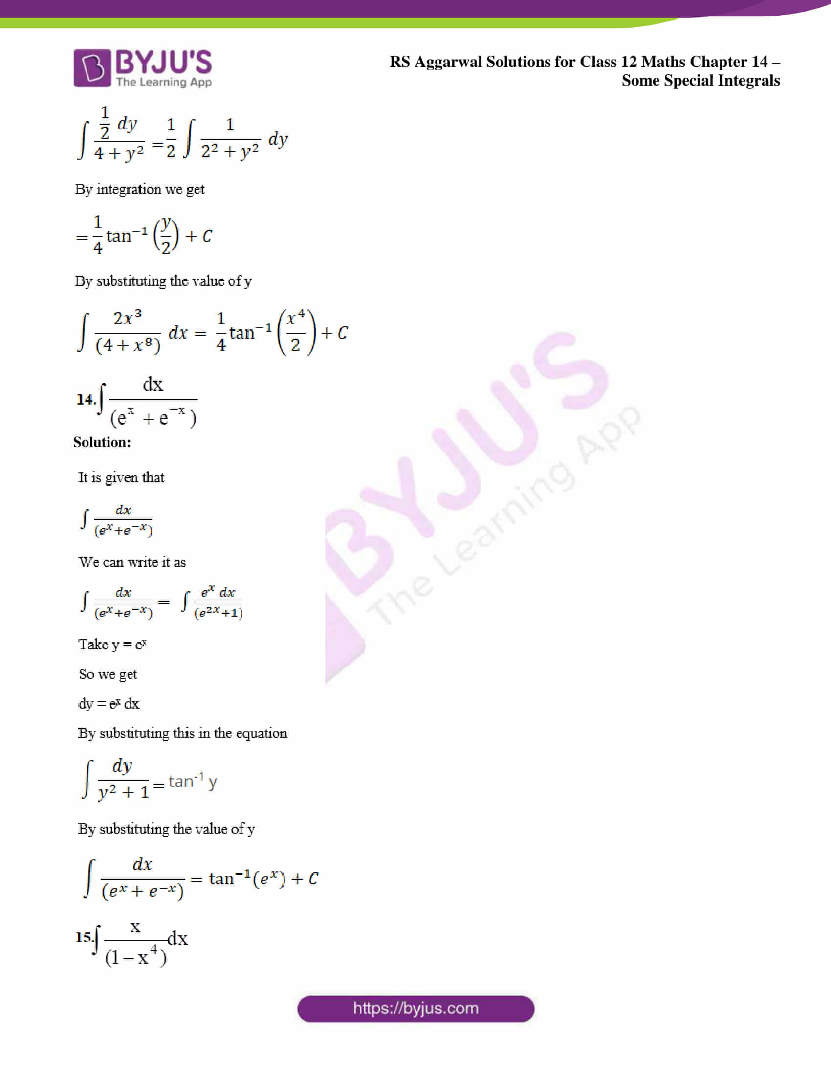rs aggarwal solution class 12 maths chapter 14 ex a 09