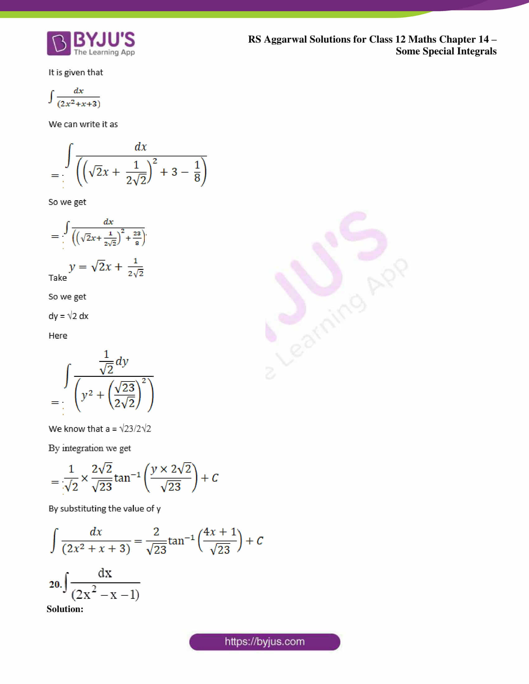 rs aggarwal solution class 12 maths chapter 14 ex a 13