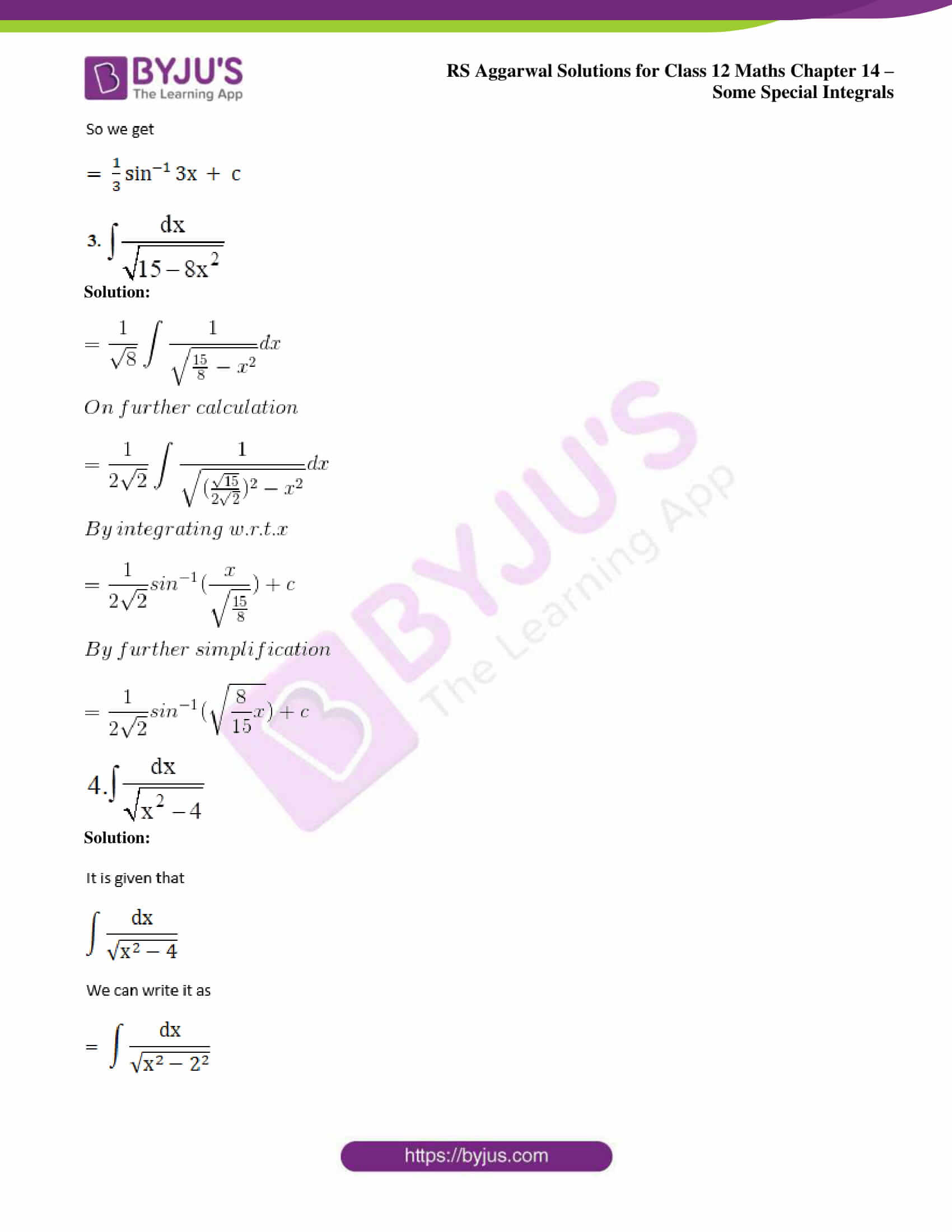 rs aggarwal solution class 12 maths chapter 14 ex b 02