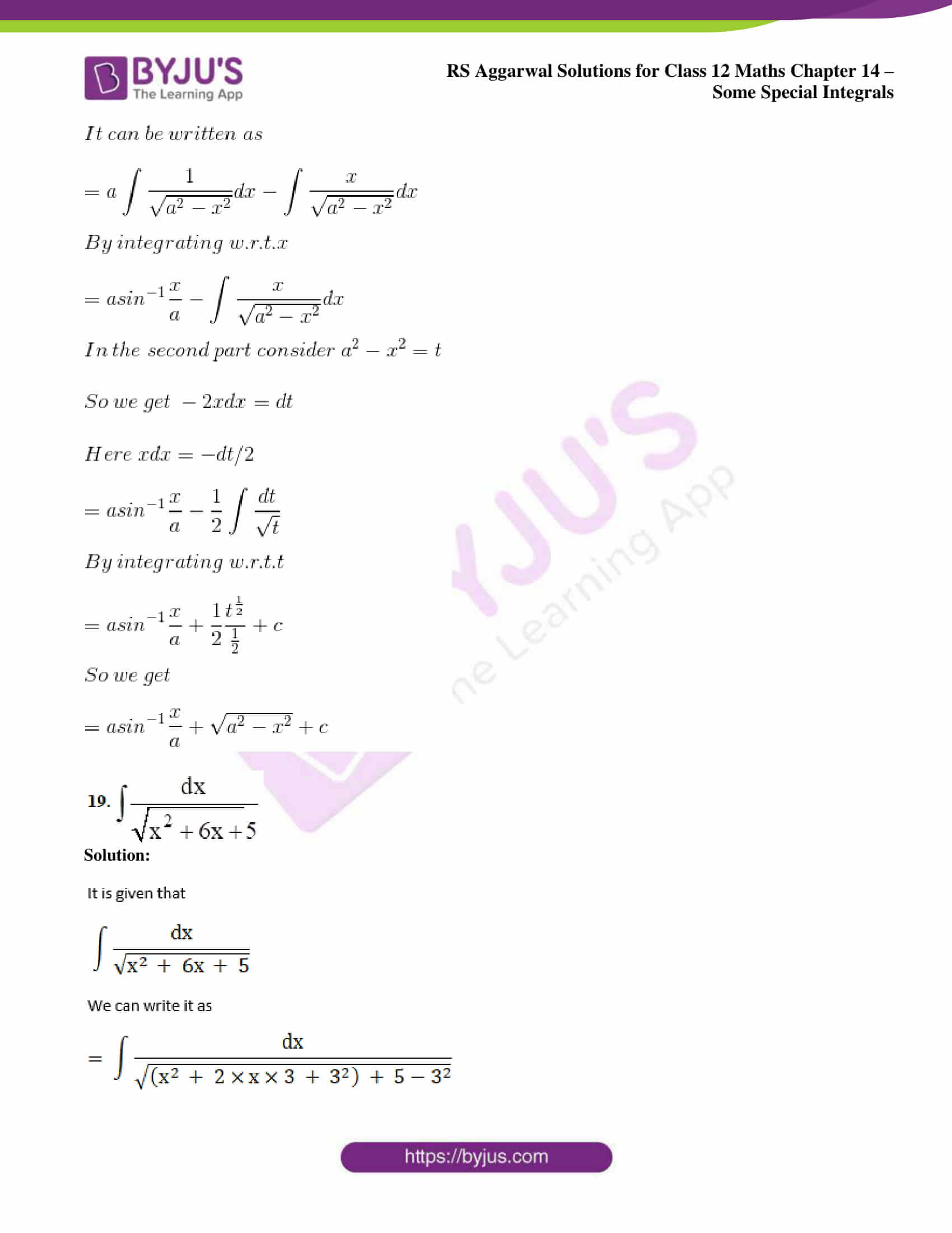 rs aggarwal solution class 12 maths chapter 14 ex b 11