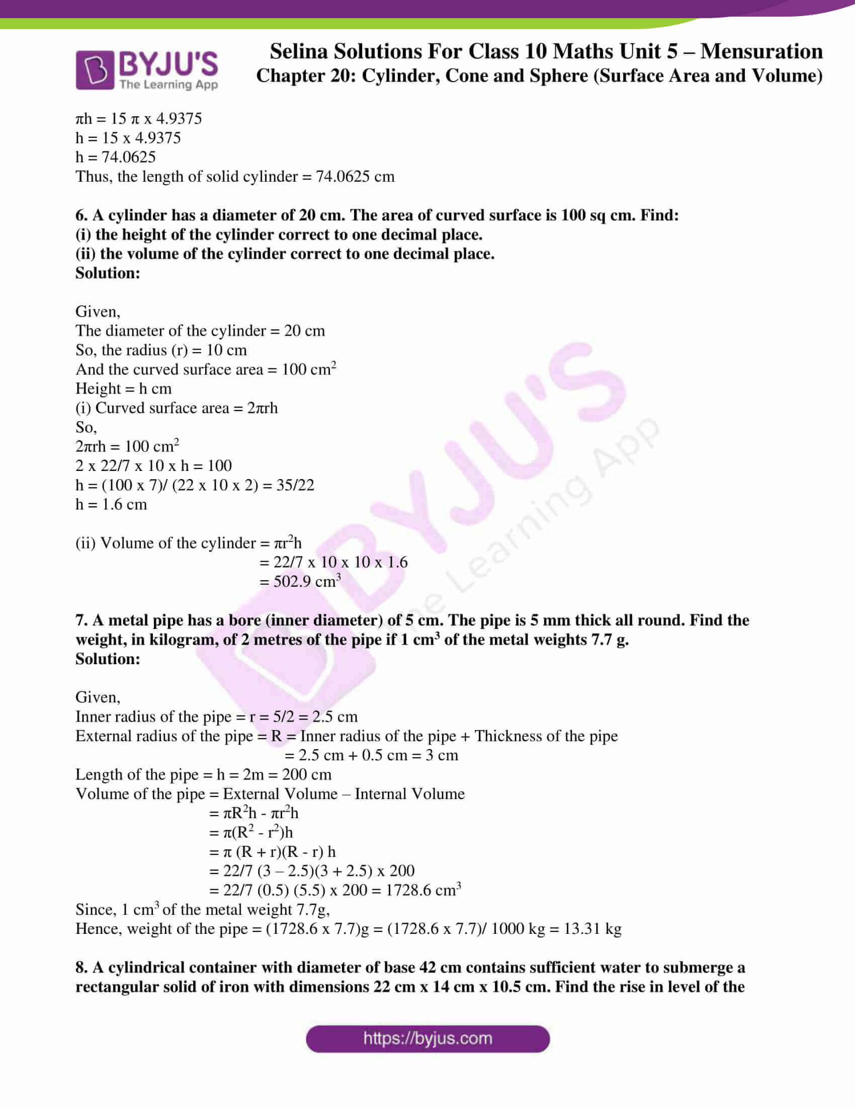 selina-sol-maths-class-10-ch-20-ex-a-3