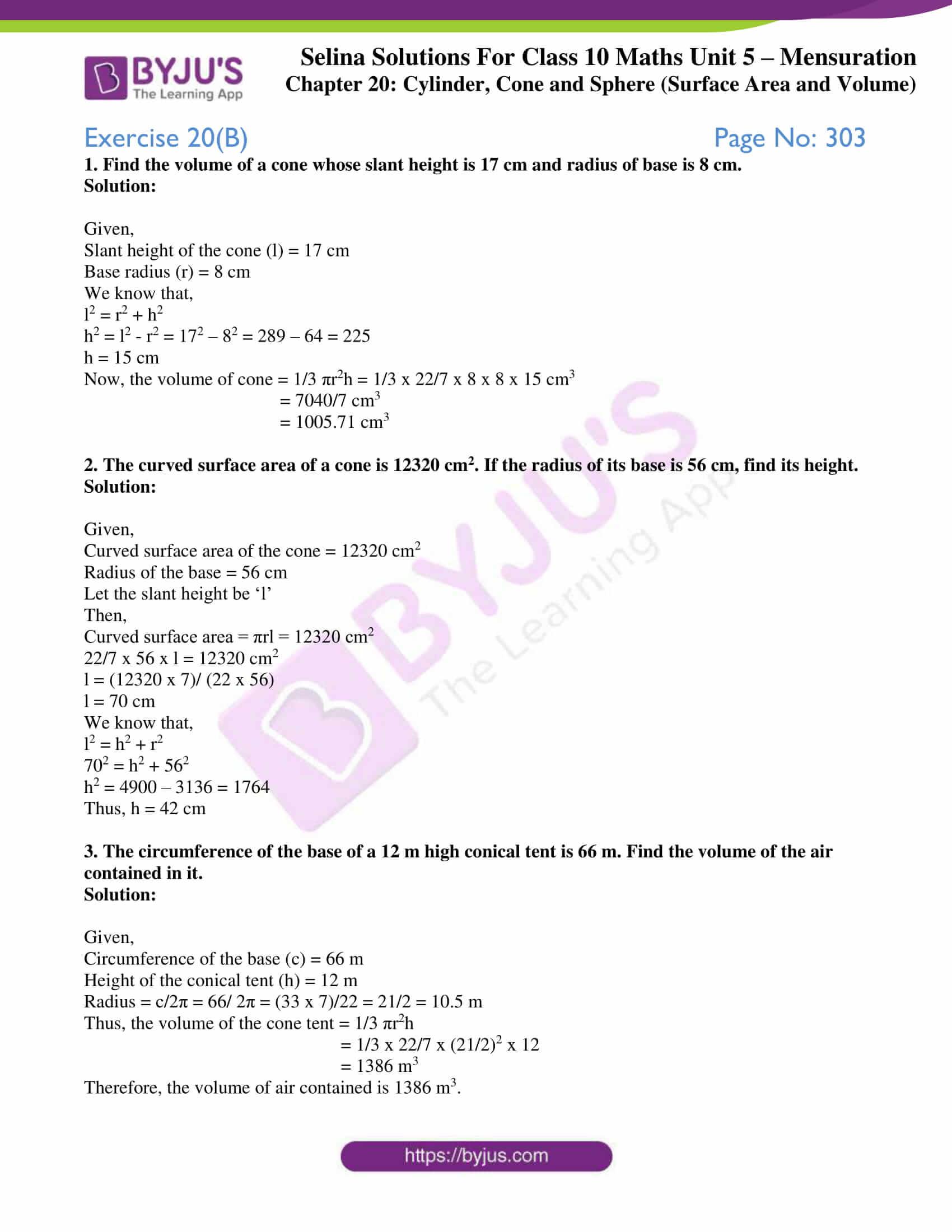 selina-sol-maths-class-10-ch-20-ex-b-1