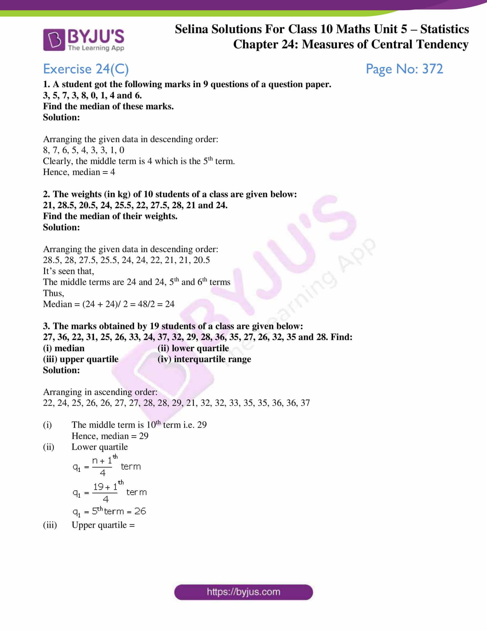 selina-sol-maths-class-10-ch-24-ex-c-1