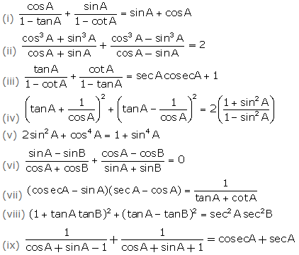 Selina Solutions Concise Class 10 Maths Chapter 21 ex. 21(B) - 1