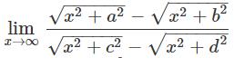 Solve Limit Problems