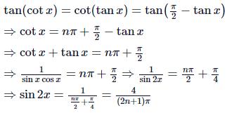 Trigonometric Equation Examples