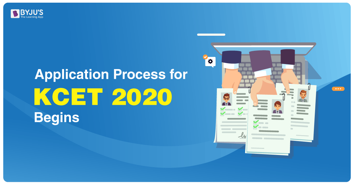 Application Process for KCET 2020 Begins