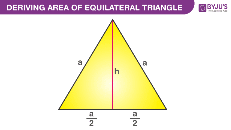 Deriving Area Of Equilateral Triangle