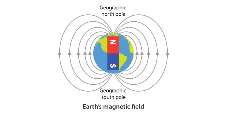 Magnetic poles of the Earth