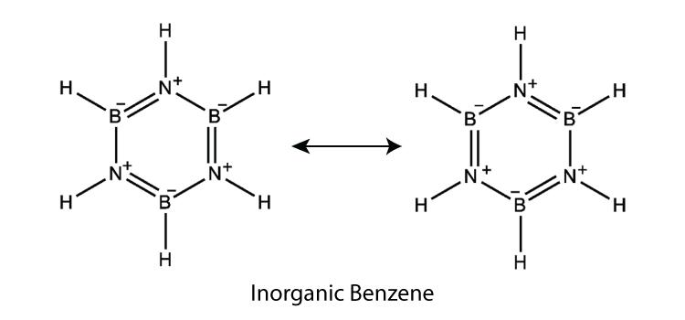 Inorganic benzene