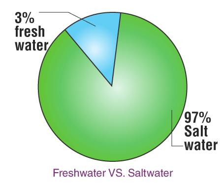 Freshwater VS Saltwater
