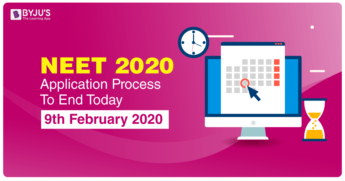 NEET 2020 Application Process To End Today