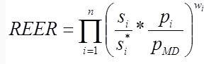 REER Formula