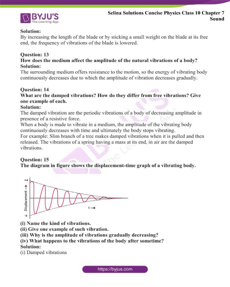 Selina Solutions Concise Physics Class 10 Chapter 7 Sound 12