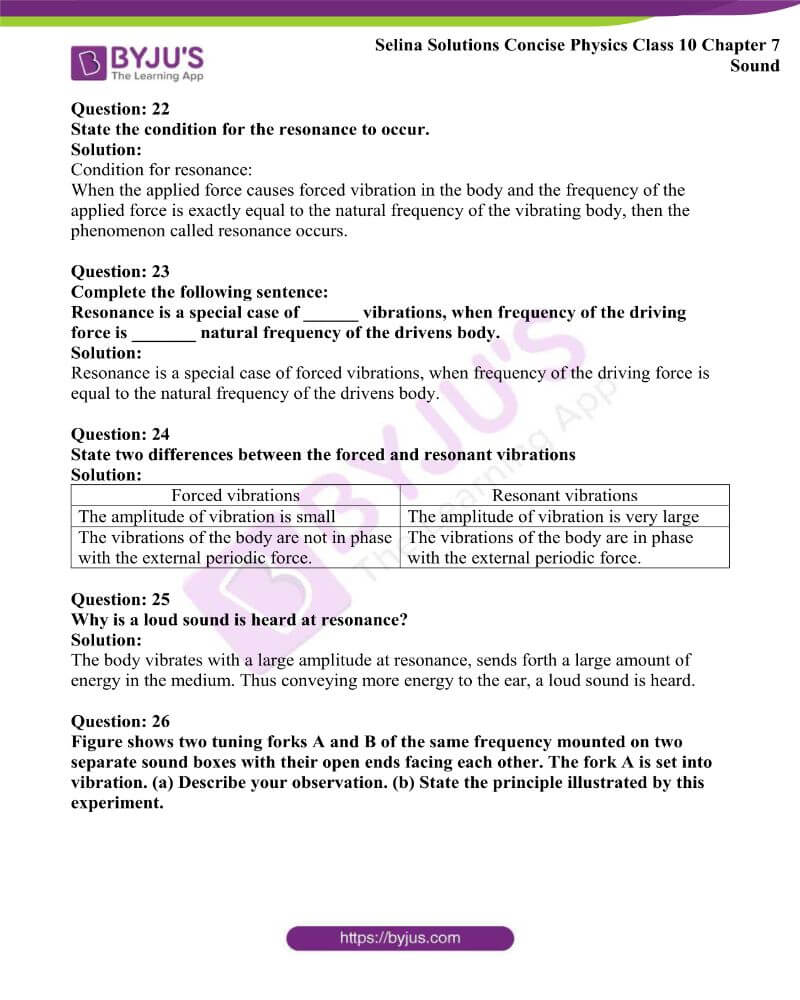Selina Solutions Concise Physics Class 10 Chapter 7 Sound 15