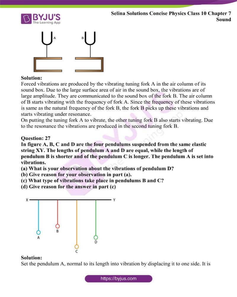 Selina Solutions Concise Physics Class 10 Chapter 7 Sound 16