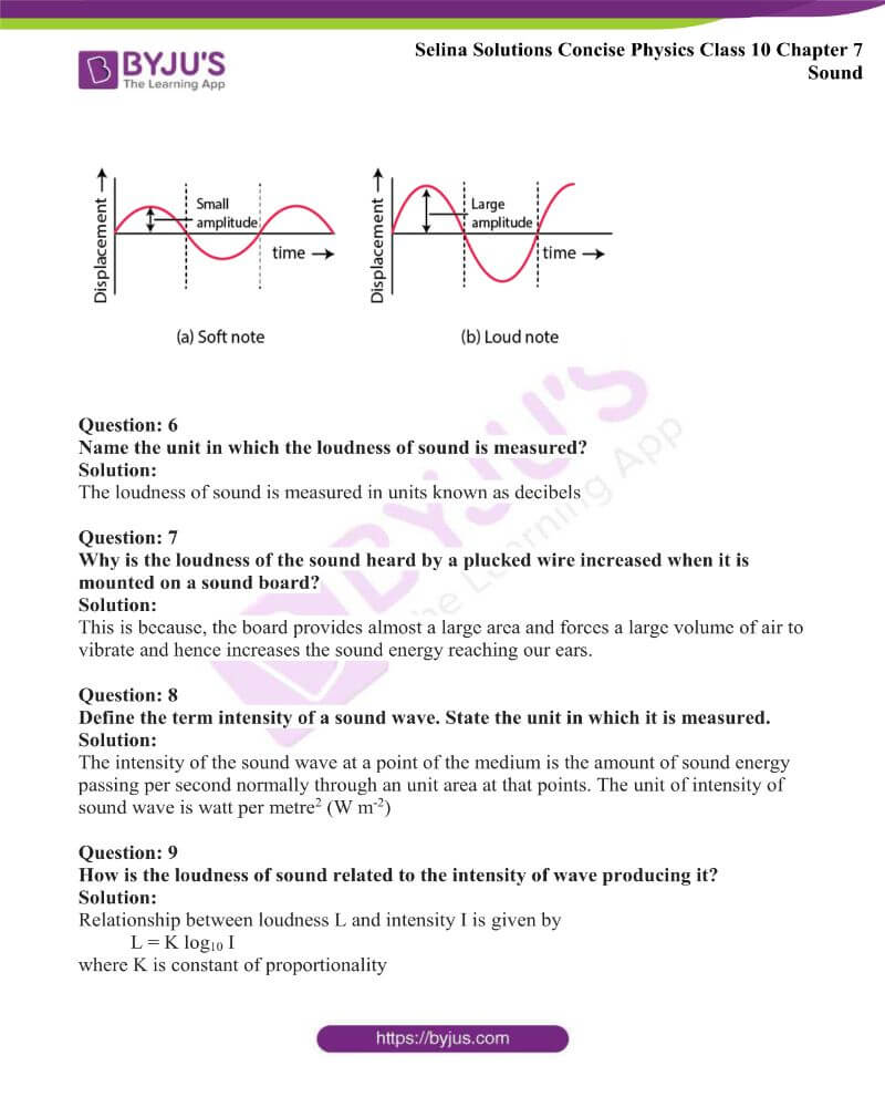 Selina Solutions Concise Physics Class 10 Chapter 7 Sound 21