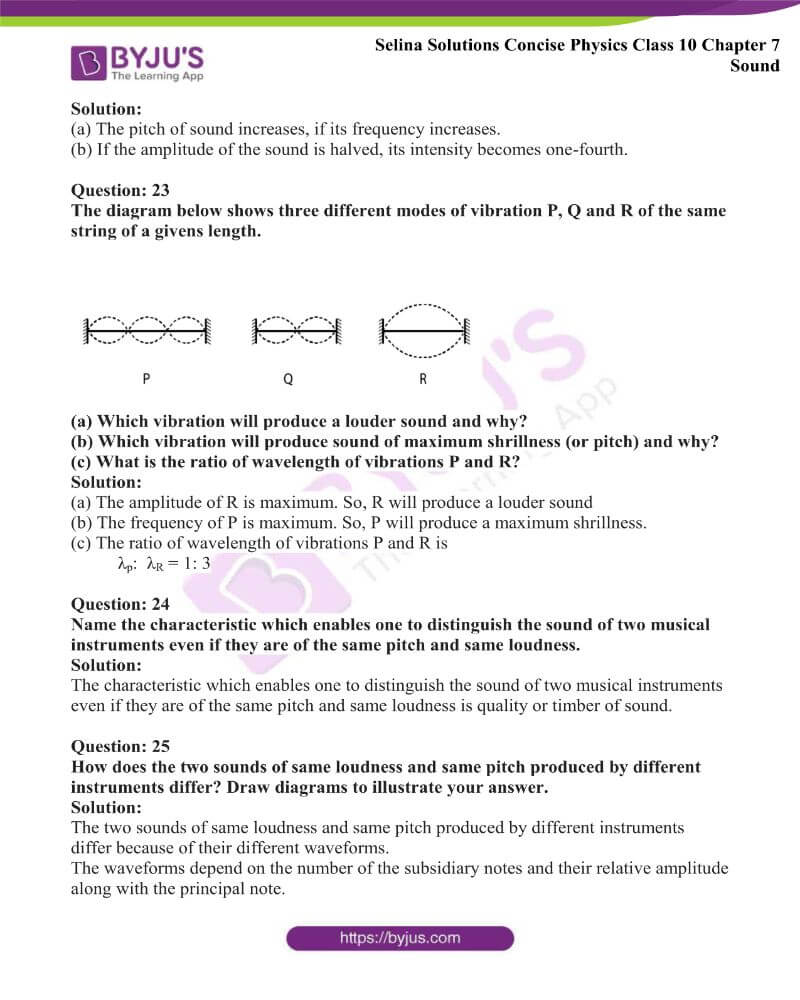 Selina Solutions Concise Physics Class 10 Chapter 7 Sound 25