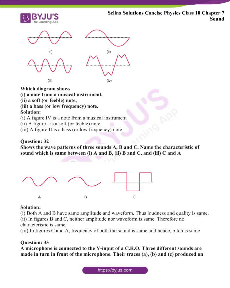 Selina Solutions Concise Physics Class 10 Chapter 7 Sound 28