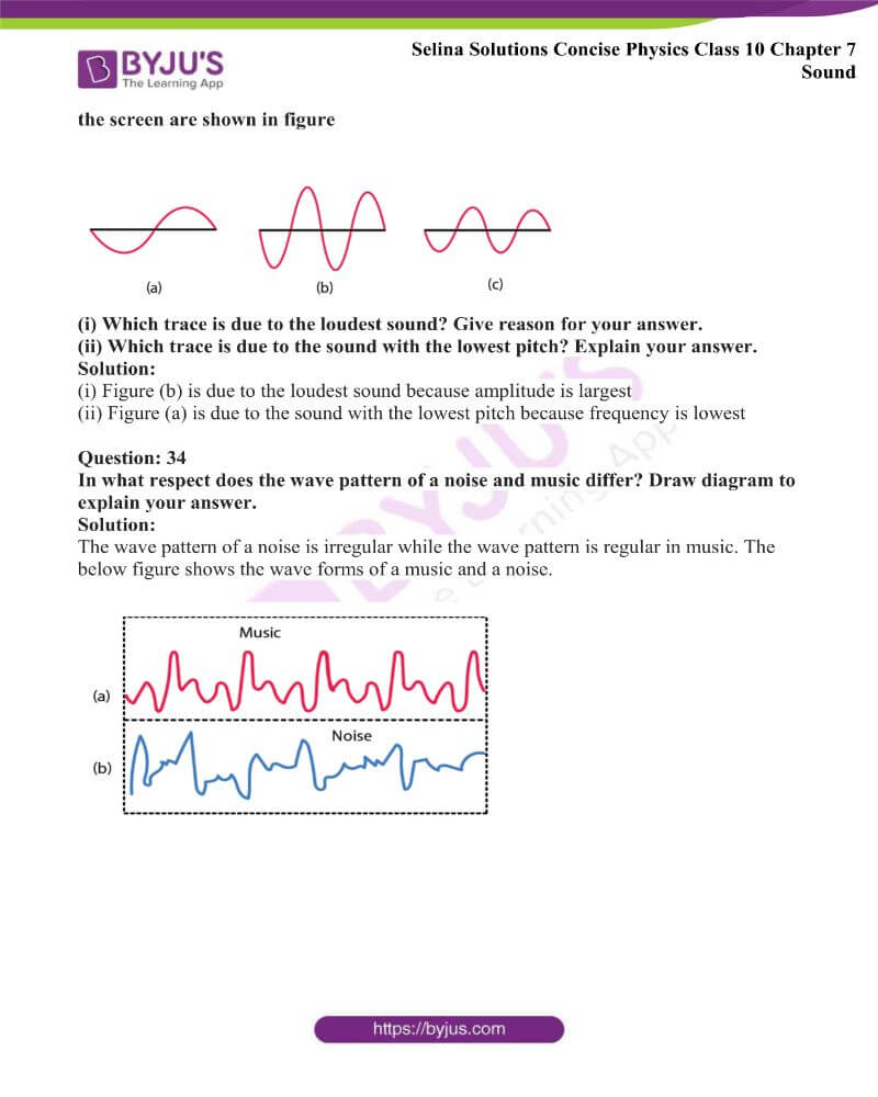 Selina Solutions Concise Physics Class 10 Chapter 7 Sound 29