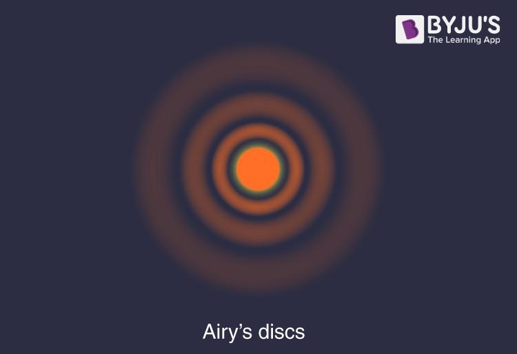 Airy's discs