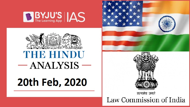 16 February 2020: The Hindu Analysis