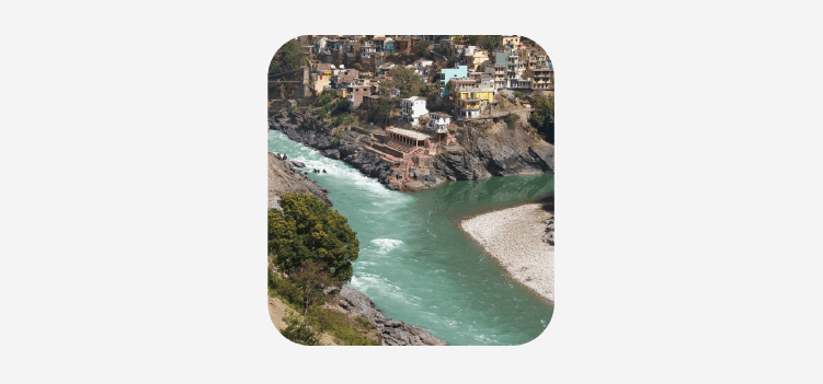 GK Questions on Rivers of India for Class 2 - Devprayag