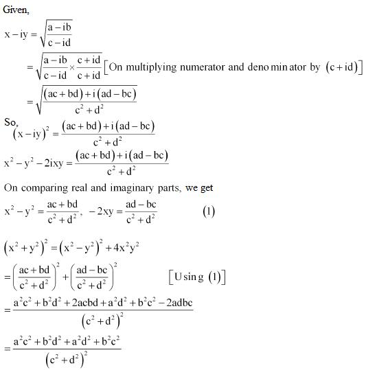 NCERT Solutions Class 11 Mathematics Chapter 5 misc.ex - 7