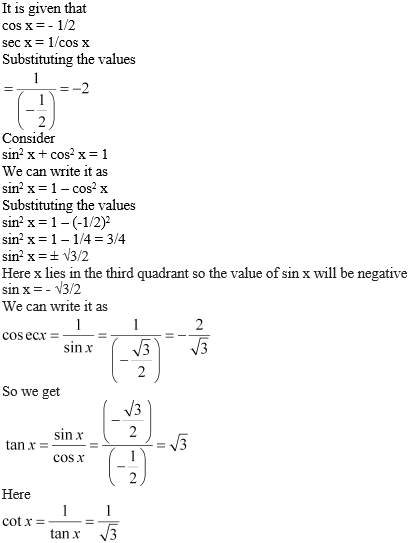 NCERT Solutions for Class 11 Chapter 3 Ex 3.2 Image 1