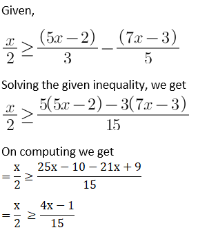 NCERT Solutions for Class 11 Maths Chapter 6 Linear Inequalities Image 17