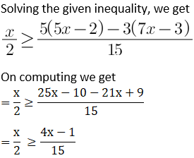 NCERT Solutions for Class 11 Maths Chapter 6 Linear Inequalities Image 18