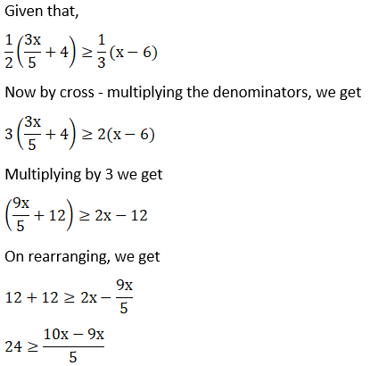 NCERT Solutions for Class 11 Maths Chapter 6 Linear Inequalities Image 6