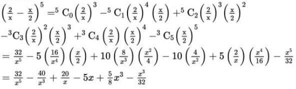NCERT Solutions for Class 11 Maths Chapter 8 Binomial Theorem Image 2