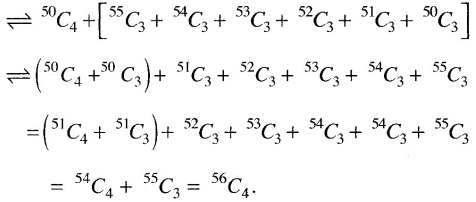 Permutation and Combination JEE Maths Example