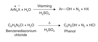 Synthesis of Phenols From Diazonium Salts