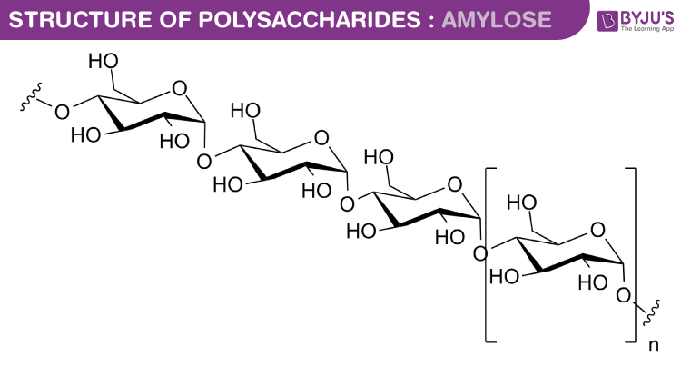 Polysaccharides structure