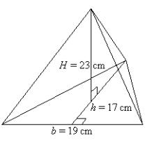 solution of triangular pyramid