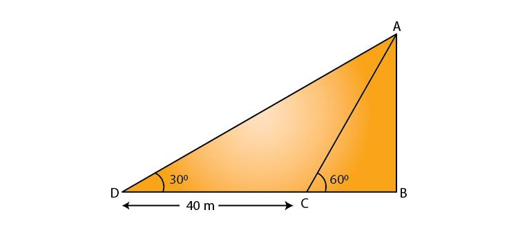 Class 10 Maths Chapter 9 Applications of trigonometry 01