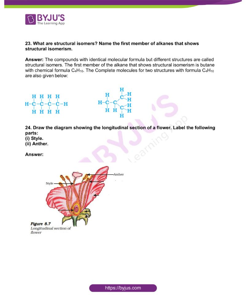 KSEEB Class 10 Science Solved Previous Year Paper 2019 8