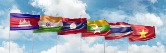 MGC Member Country Flags