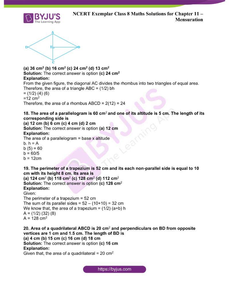 NCERT Exemplar Class 8 Maths Solutions Chapter 11 5