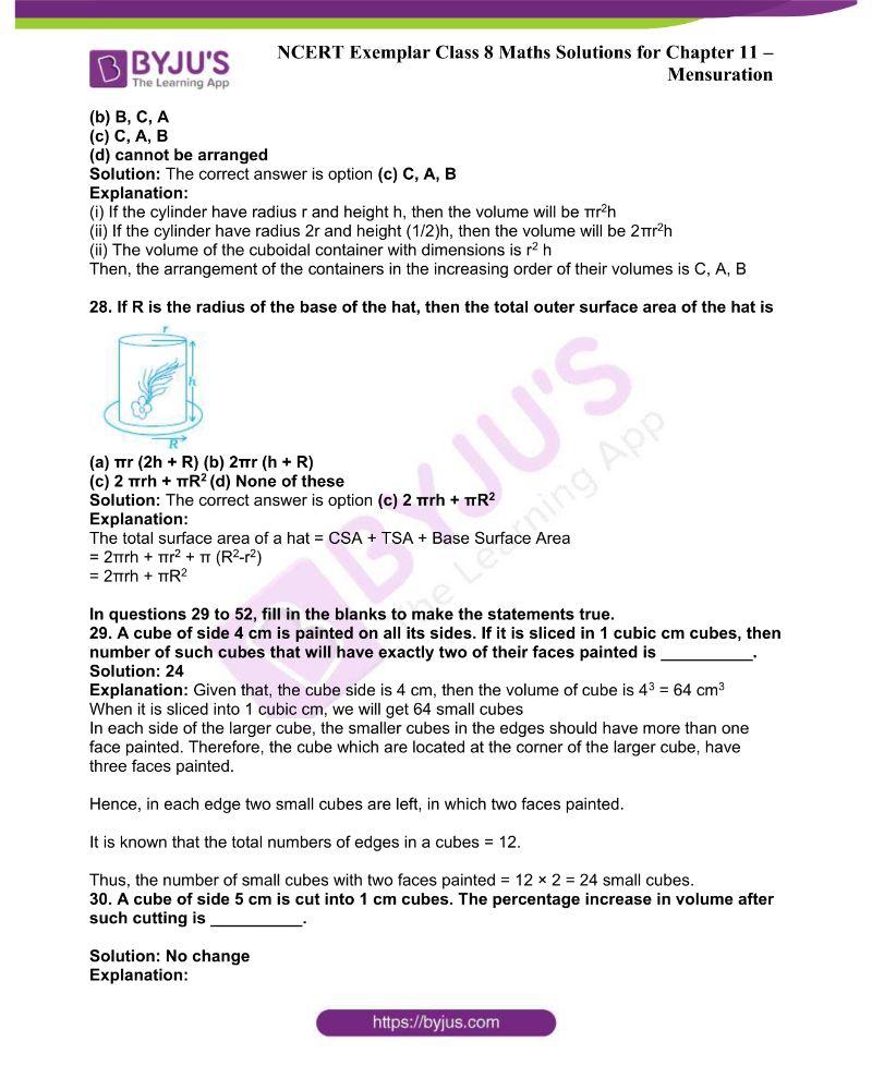 NCERT Exemplar Class 8 Maths Solutions Chapter 11 8