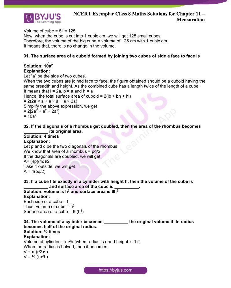 NCERT Exemplar Class 8 Maths Solutions Chapter 11 9
