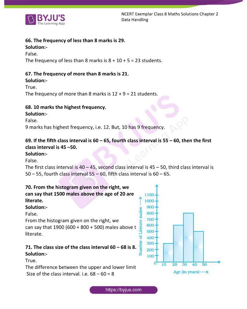 NCERT Exemplar Class 8 Maths Solutions Chapter 2 Data Handling 14