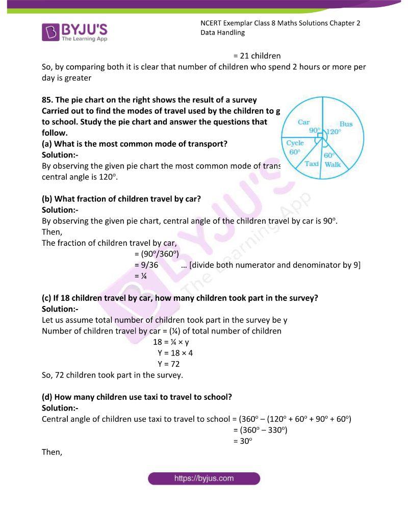 NCERT Exemplar Class 8 Maths Solutions Chapter 2 Data Handling 21