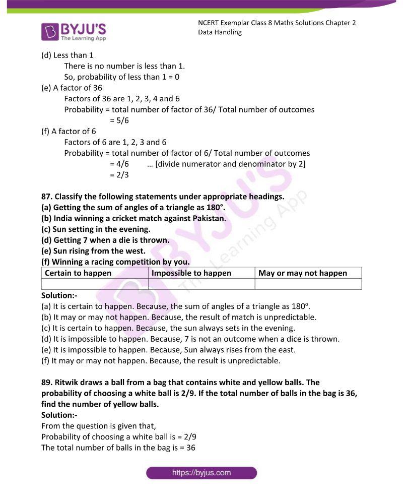 NCERT Exemplar Class 8 Maths Solutions Chapter 2 Data Handling 23